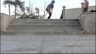 5 Stairs KickFlip