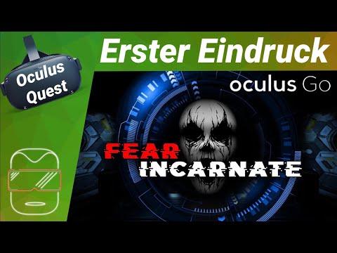Oculus Quest - Fear Incarnate: Horror Endless Runner [deutsch Erster Eindruck Review Virtual Reality