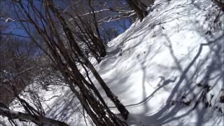 雪の位牌岳170211