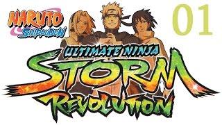Прохождение Naruto Shippuden: Ultimate Ninja Storm Revolution - Часть #1