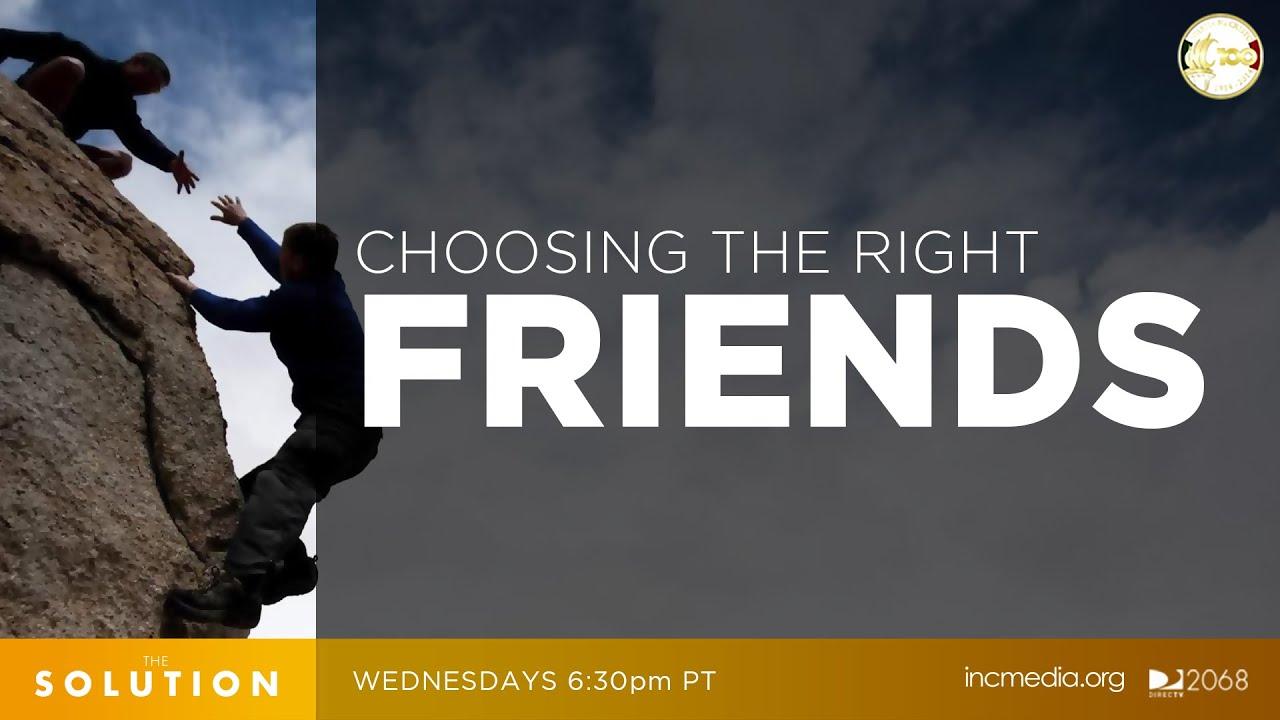 choosing friends wisely bible