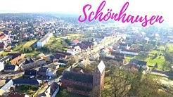 Schönhausen/Elbe von Oben