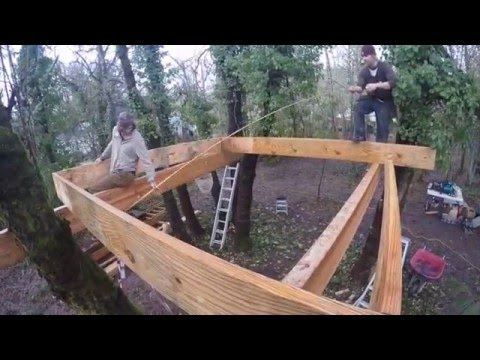 Barefoot Builders - Corvallis treehouse