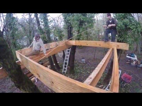 Barefoot Builders – Corvallis treehouse