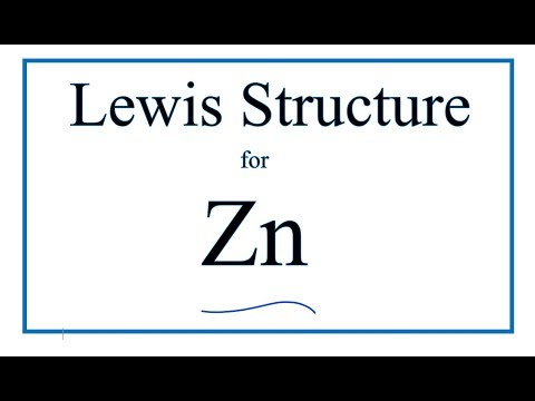 How to Draw the Lewis Dot Structure for Zn (Zinc)