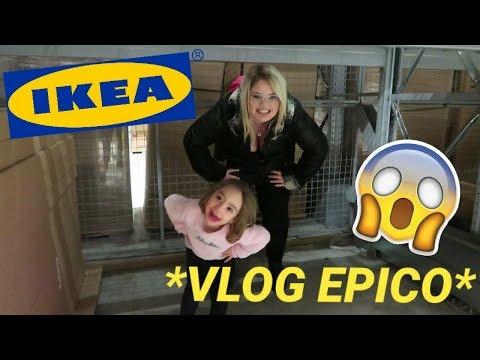 VLOG EPICO DENTRO IKEA / chiara e lara