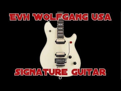 2537452f246 EVH Wolfgang USA Edward Van Halen Signature Guitar - YouTube