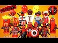 Deadpool 2 Movie X-Force Pump the Hate Brakes Thanos MOC Unofficial LEGO Minifigures