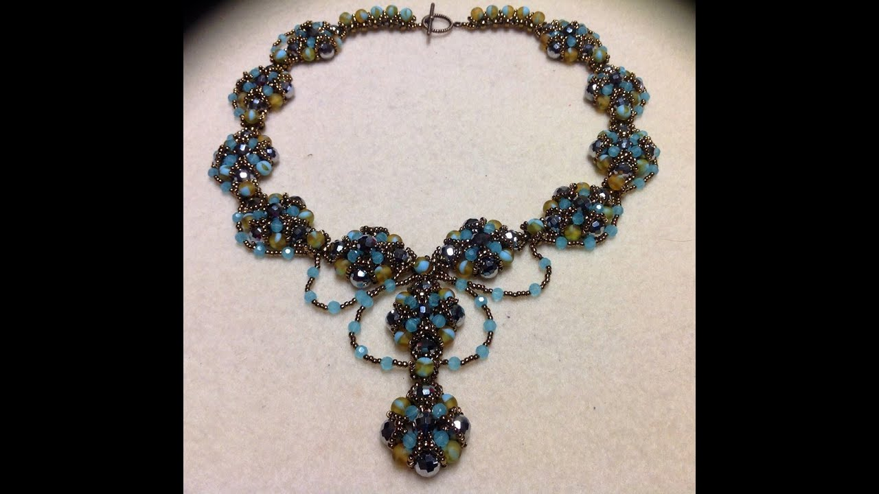 Spectacular Necklace Tutorial - YouTube