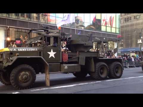 Vintage World War 2 U.S. Army Vehicles