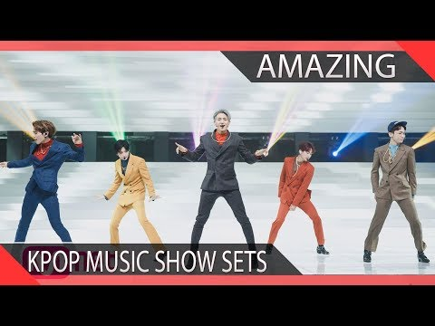 Amazing KPOP Music Show Stage Sets [Part 1]