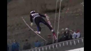 【スキージャンプ・フライングヒル】 スーパー大ジャンプの映像!