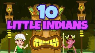 Ten Little Indians | Nursery Rhymes for Kids