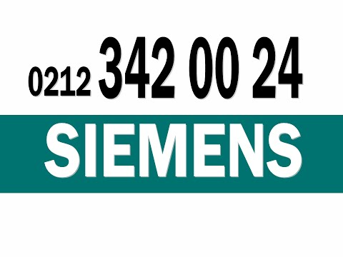 Siemens Servis Kemerburgaz 212 342 00 24 siemens servisi göktürk