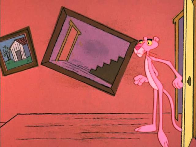 The Pink Panther Show Episode 35 - The Hand is Pinker Than the Eye