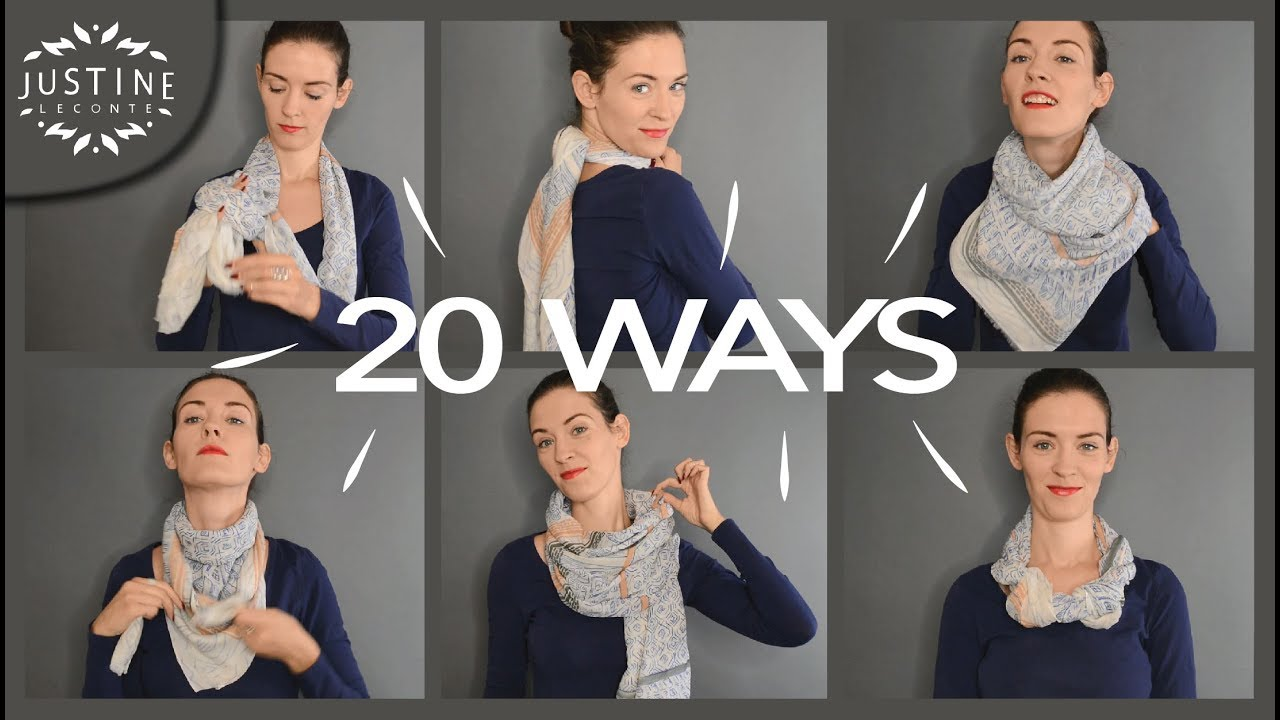 487f411e7f5 20 ways to wear a scarf + how-to tips
