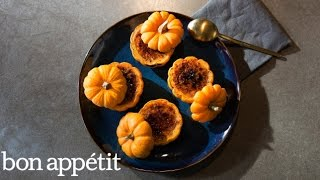 Pumpkin Crème Brûlée in a Pumpkin | Kitchen Lab