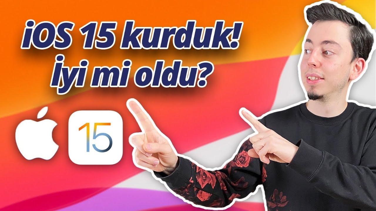 iOS 15 özellikleri neler? Kurduk, pişman mıyız? 😳
