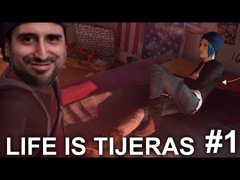 LIFE IS TIJERAS - Life is Strange #1 episodio COMPLETO en Español - GOTH thumbnail