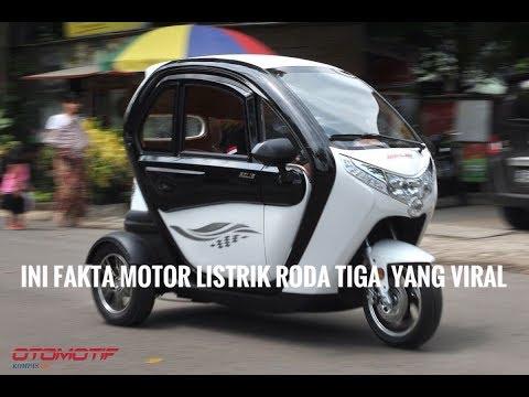 Fakta Selis Balis, Motor Listrik Roda TIga yang Viral