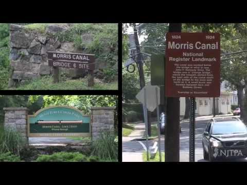 """The historic Morris Canal right-of-way is being repurposed as a public greenway, creating new opportunities for recreation, tourism, education and economic growth,"" the YouTube page notes."