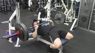 Athlean-X  & ScottHermanFitness Both Have Said Not To Touch Your Chest On The Bench Press