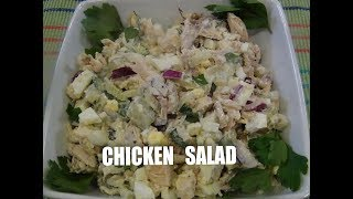 Chicken Salad  Easy and Healthy Episode #41