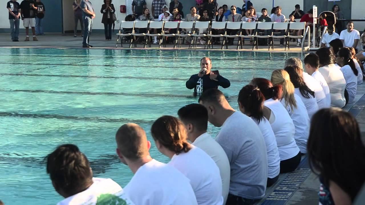 Calvary Chapel South Bay S Baptism 2012 Youtube
