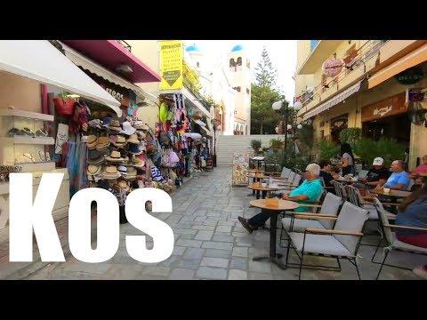 Kos Island, Greece | Walking Through the Streets of Kos Town