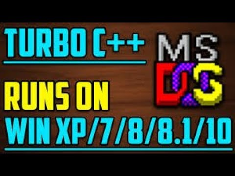 How To Install Turbo C/C++ In Microsoft Windows XP/7/8/10