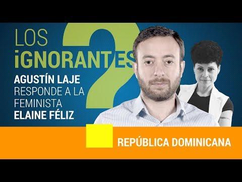 Agustín Laje responde a las mentiras de Elaine Féliz