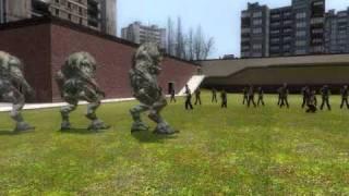 The Gmod Fights: Hellknights VS Zombies