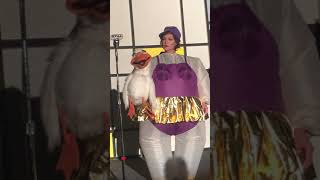 Gertie the Gorgeous Goose Sings Opera for Entertainer Hillary Saffran