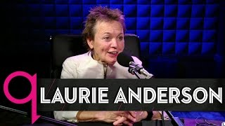 """Heart of a Dog"" Director Laurie Anderson in studio q"