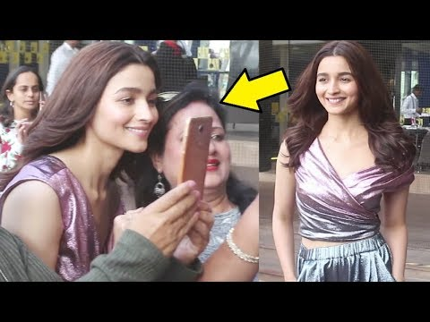 Alia Bhatt Sweet Gesture For Her Female Fans During Gully Boy Promotion Mp3