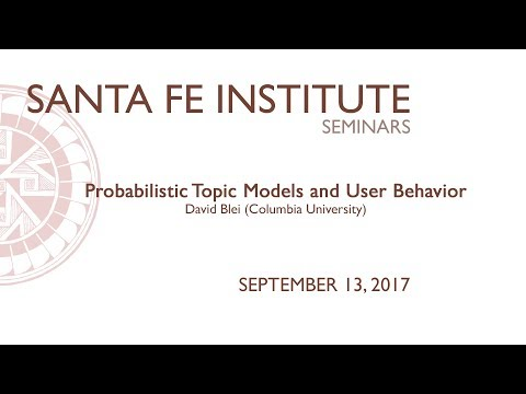 Probabilistic Topic Models and User Behavior