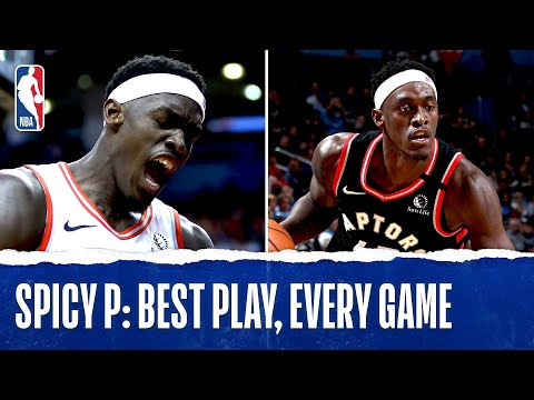 Pascal Siakam's Best Plays From Every Game!