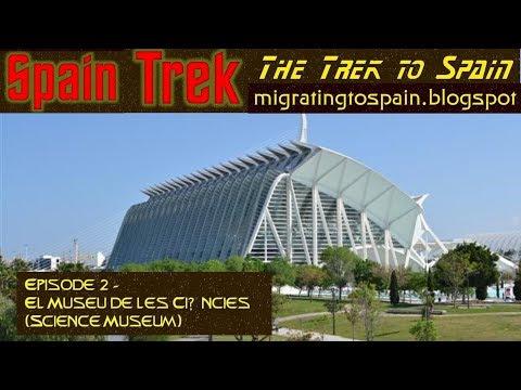 Spain Trek - Episode 2, El Museu de les Ciències (Science Museum)