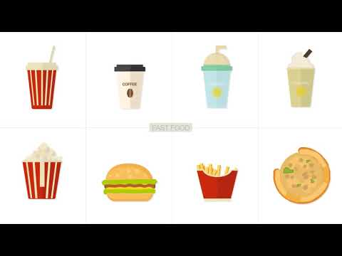 Flat Animated Icons 1000 | After Effects template