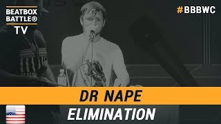 Dr NaPe from USA - Loop Station Elimination - 5th Beatbox Battle World Championship