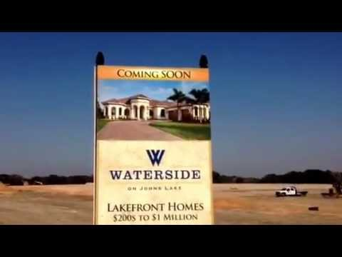 Waterside on Johns Lake - Winter Garden New Home Sales - Centerline Homes