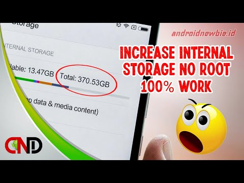 5 The best way to increase Android internal memory without deleting data.