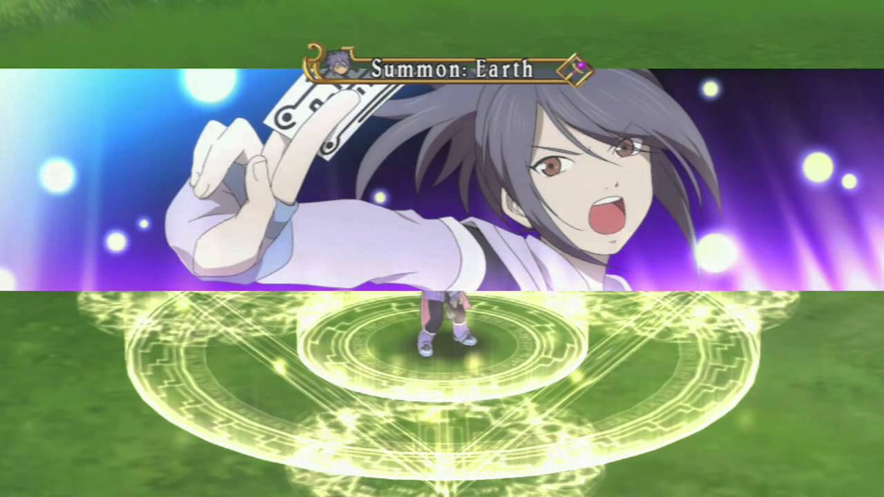 Tales Of Symphonia Chronicles Bonus Video Sheena Summon Exhibition