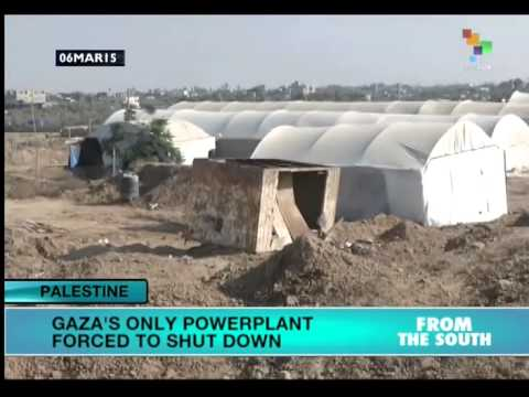 Gaza's only power plant forced to shut down