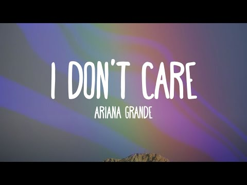 Ariana Grande - I Don't Care (Audio)