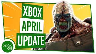 Xbox Update   April 2020
