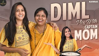 DIML Vlog With Captain MOM | Mutton Fry Recipe | Lasya Manjunath Latest Videos | Lasya Talks