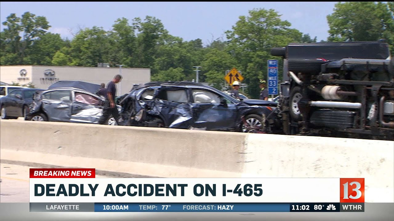 Deadly Crash on I-465