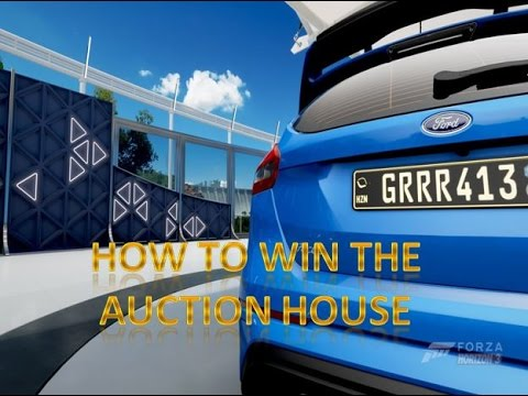 How to Win the Auction House in Forza Horizon 3!!!