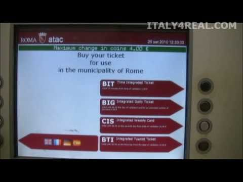 Italy Travel How To: Rome Metro
